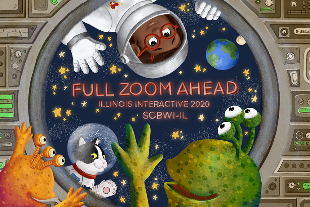 Full Zoom Ahead banner by Gabriella Vagnoli